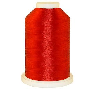 Red # 1190 Iris Polyester Embroidery Thread - 1100 Yds