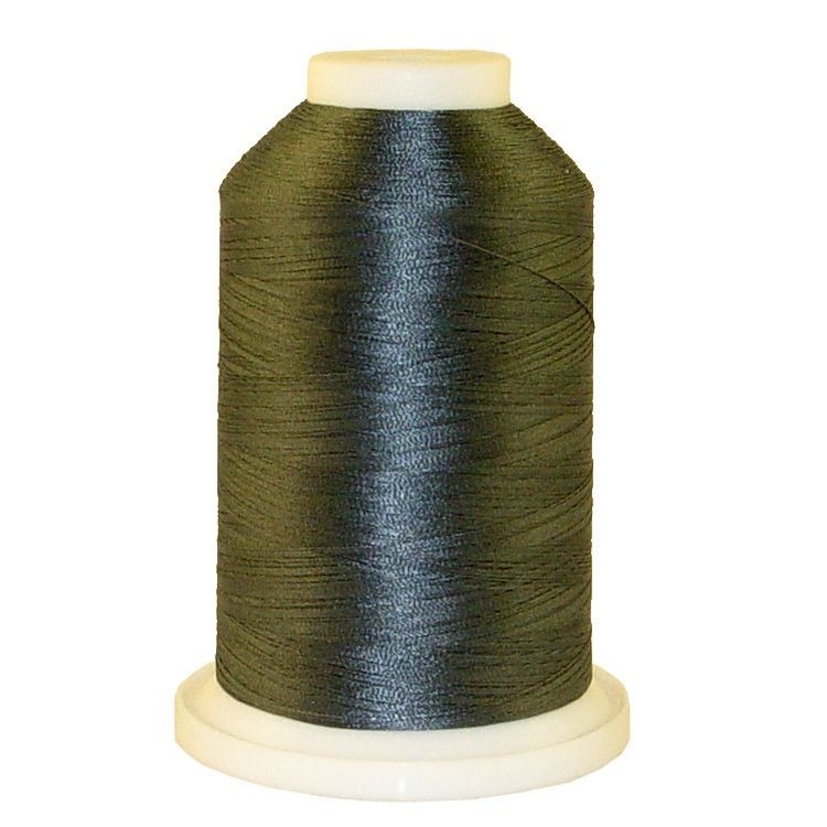 Granite Gray # 1192 Iris Trilobal Polyester Machine Embroidery & Quilting Thread - 5500 Yds