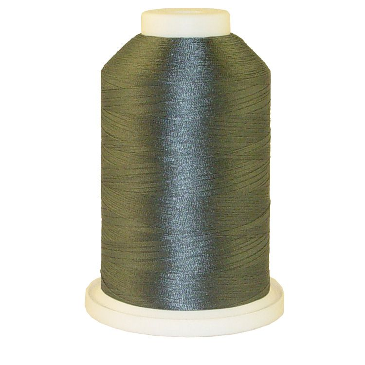 Black Chrome # 1193 Iris Trilobal Polyester Machine Embroidery & Quilting Thread - 5500 Yds