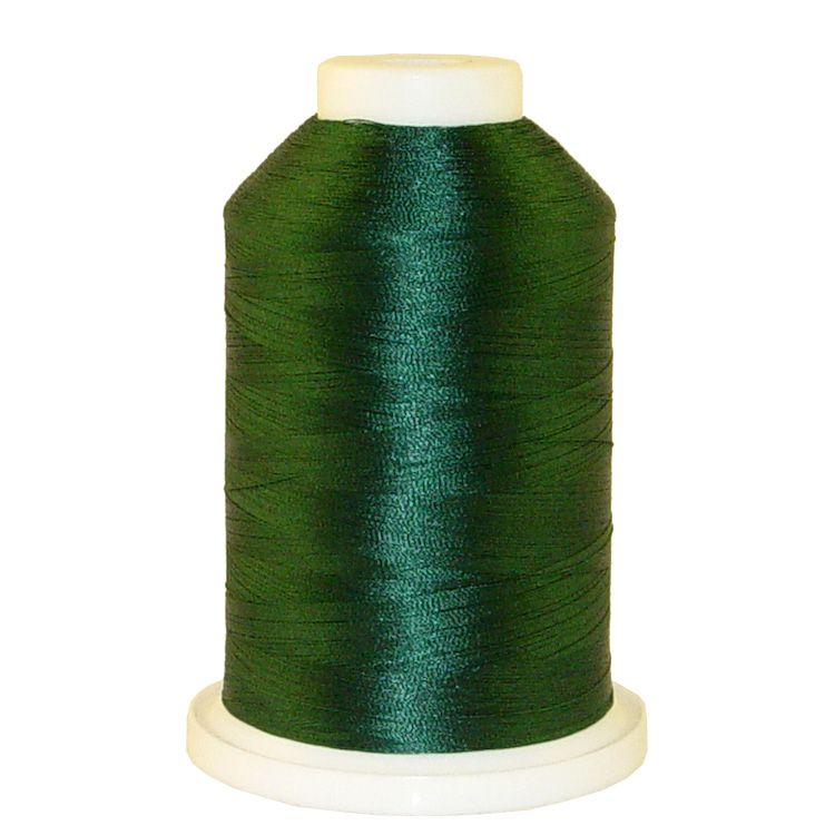 Dark Forest Teal # 1196 Iris Trilobal Polyester Machine Embroidery & Quilting Thread - 5500 Yds