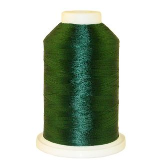 Dark Forest Teal # 1196 Iris Polyester Embroidery Thread - 1100 Yds
