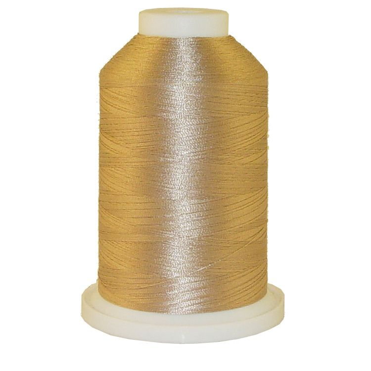 Taupe # 1207 Iris Trilobal Polyester Machine Embroidery & Quilting Thread - 5500 Yds
