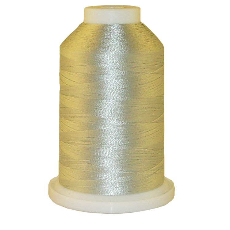 Sebring Silver # 1212 Iris Trilobal Polyester Machine Embroidery & Quilting Thread - 5500 Yds