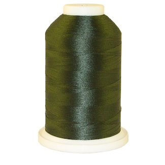 Camp Green # 1215 Iris Polyester Embroidery Thread - 1100 Yds