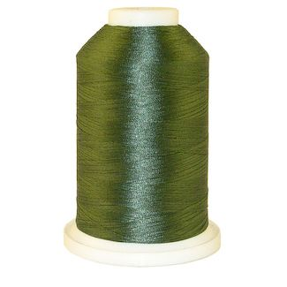 Dark Teal Green # 1216 Iris Polyester Embroidery Thread - 1100 Yds