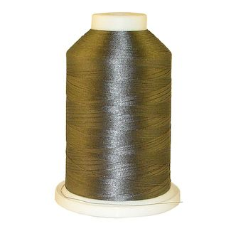 Med. Cool Grey # 1218 Iris Polyester Embroidery Thread - 1100 Yds