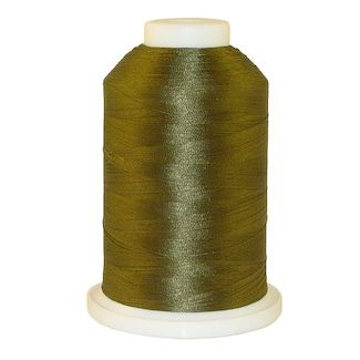 Army Green # 1220 Iris Polyester Embroidery Thread - 1100 Yds