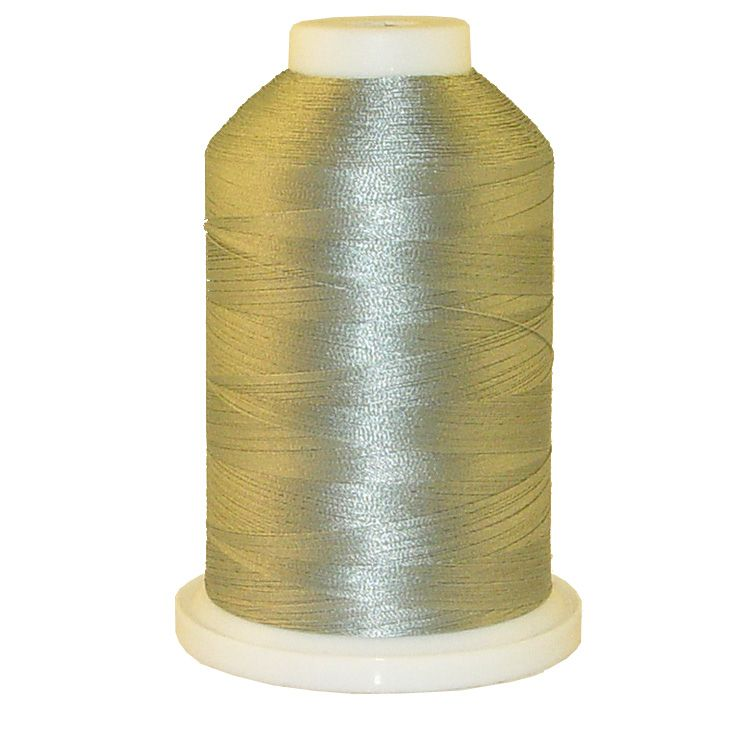 Grey Metal # 1222 Iris Trilobal Polyester Machine Embroidery & Quilting Thread - 5500 Yds