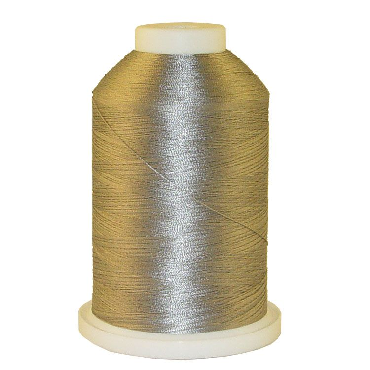 Grey Green # 1223 Iris Trilobal Polyester Machine Embroidery & Quilting Thread - 5500 Yds