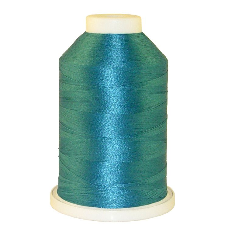 Aqua # 1225 Iris Trilobal Polyester Machine Embroidery & Quilting Thread - 5500 Yds