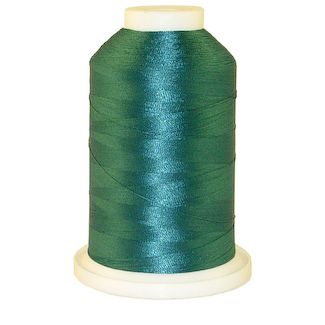 Teal # 1227 Iris Polyester Embroidery Thread - 1100 Yds