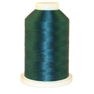 Dark Teal # 1229 Iris Polyester Embroidery Thread - 1100 Yds