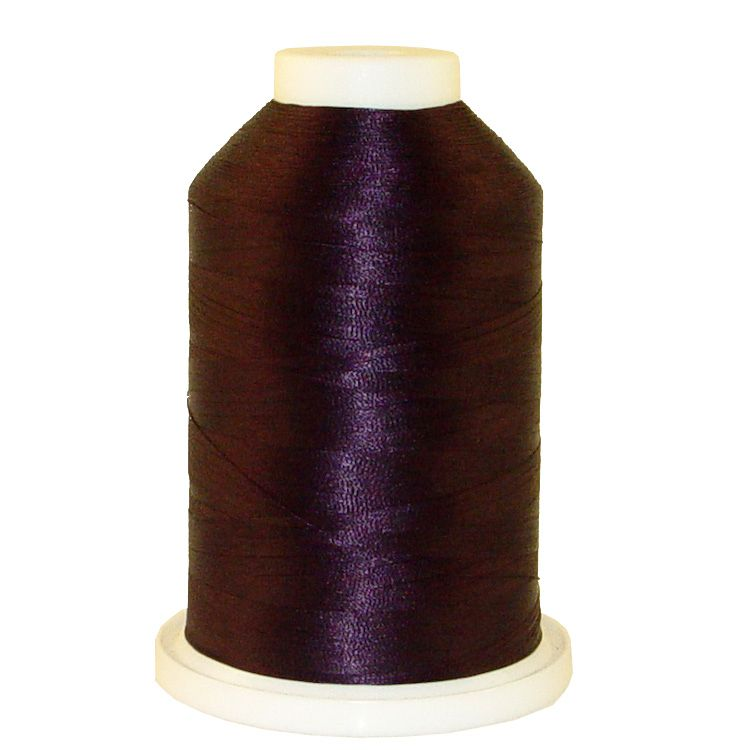 Midnight Grape # 1230 Iris Trilobal Polyester Machine Embroidery & Quilting Thread - 5500 Yds
