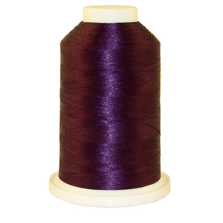 May Nights # 1232 Iris Trilobal Polyester Machine Embroidery & Quilting Thread - 5500 Yds