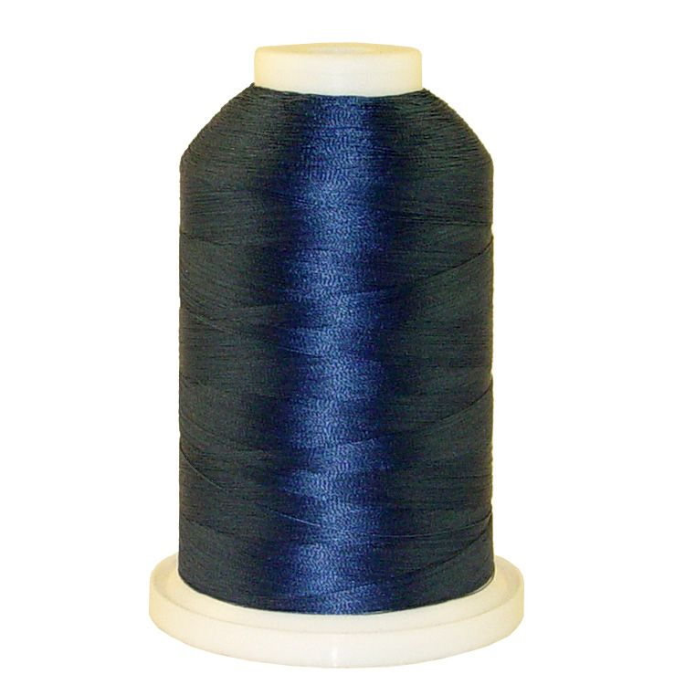 Blue Favorite # 1240 Iris Trilobal Polyester Machine Embroidery & Quilting Thread - 5500 Yds