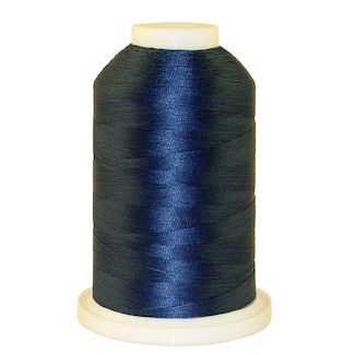 Blue Favorite # 1240 Iris Polyester Embroidery Thread - 1100 Yds
