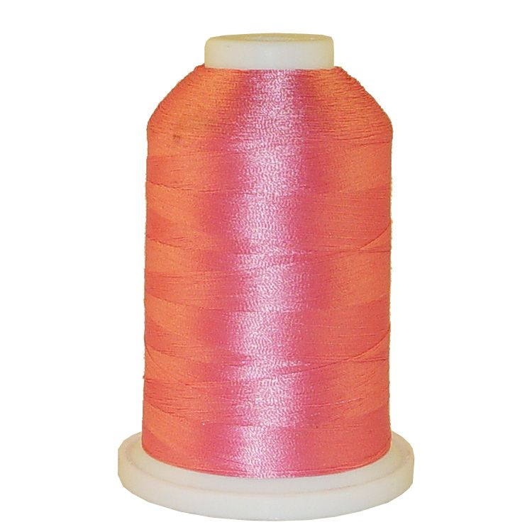 Rose Pink # 1242 Iris Trilobal Polyester Machine Embroidery & Quilting Thread - 5500 Yds_LARGE