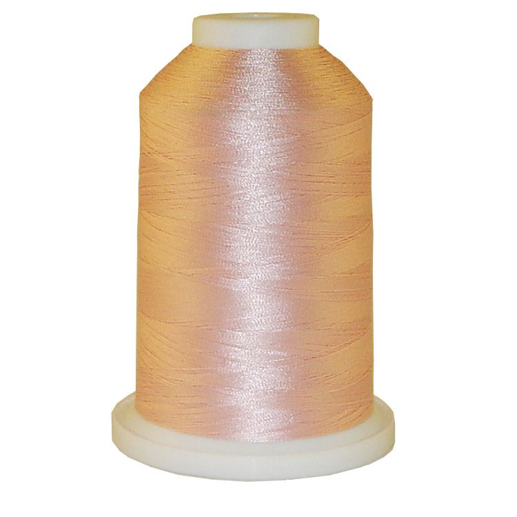 Soft Pink # 1243 Iris Trilobal Polyester Machine Embroidery & Quilting Thread - 5500 Yds