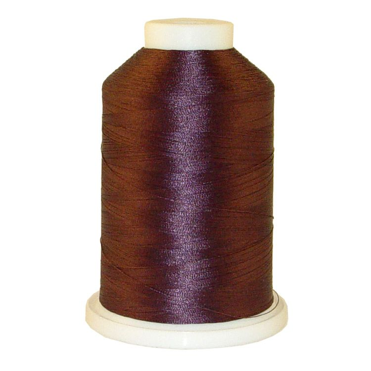Mauve # 1247 Iris Trilobal Polyester Machine Embroidery & Quilting Thread - 5500 Yds