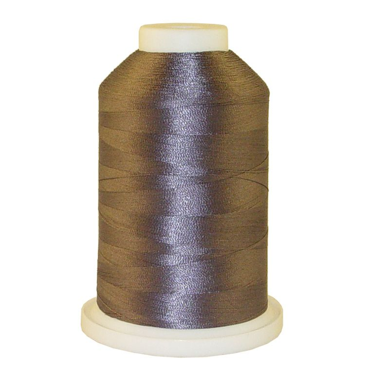 Aged Grey # 1249 Iris Trilobal Polyester Machine Embroidery & Quilting Thread - 5500 Yds