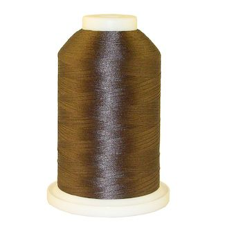 Charcoal # 1251 Iris Polyester Embroidery Thread - 1100 Yds