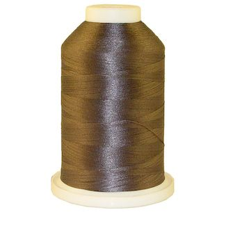 Satellite Grey # 1252 Iris Polyester Embroidery Thread - 1100 Yds