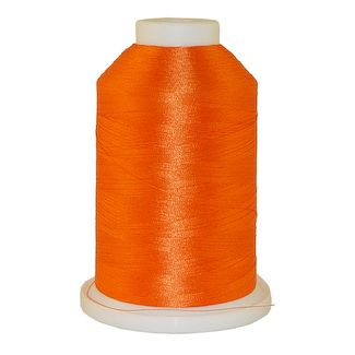 Dark Texas Orange # 1255 Iris Polyester Embroidery Thread - 1100 Yds