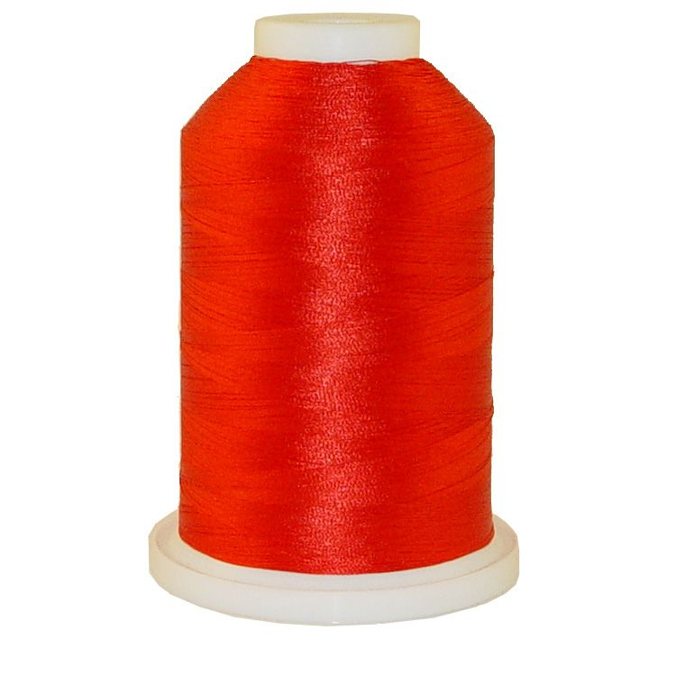 Military Red # 1259 Iris Trilobal Polyester Machine Embroidery & Quilting Thread - 5500 Yds