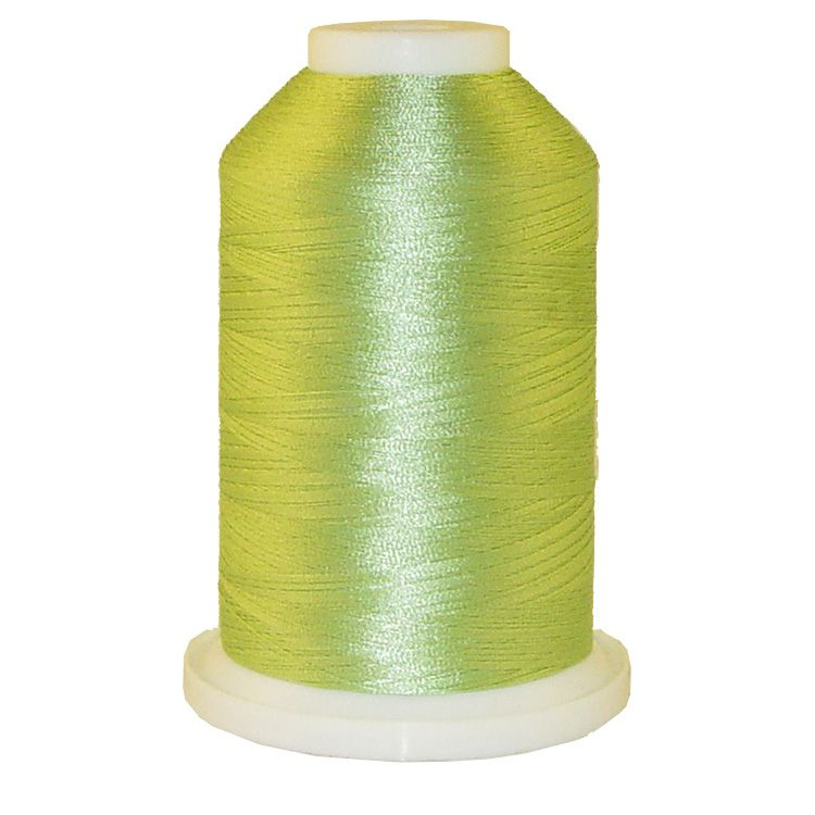 Soft Green # 1260 Iris Trilobal Polyester Machine Embroidery & Quilting Thread - 5500 Yds