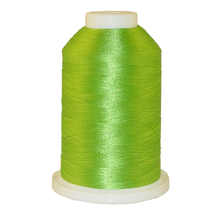 Easy Green # 1263 Iris Trilobal Polyester Machine Embroidery & Quilting Thread - 5500 Yds