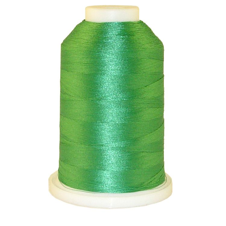 Aqua Mint # 1266 Iris Trilobal Polyester Machine Embroidery & Quilting Thread - 5500 Yds