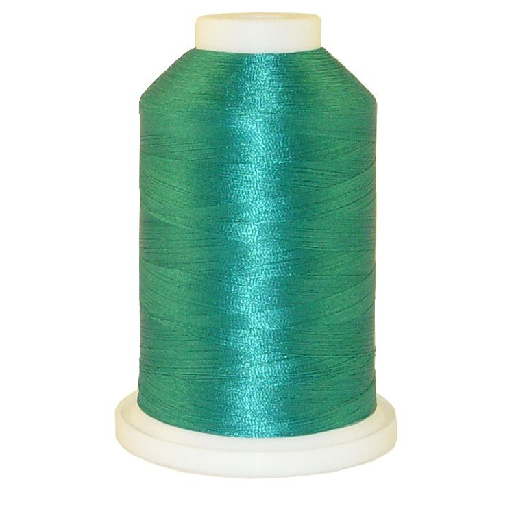 Aquamarine Blue # 1272 Iris Trilobal Polyester Machine Embroidery & Quilting Thread - 5500 Yds_THUMBNAIL