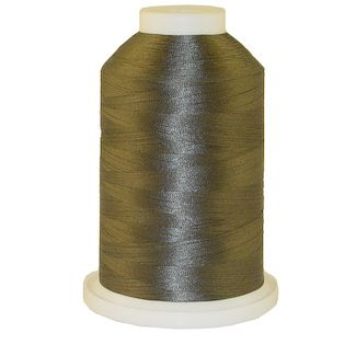 Gunmetal # 1280 Iris Polyester Embroidery Thread - 1100 Yds