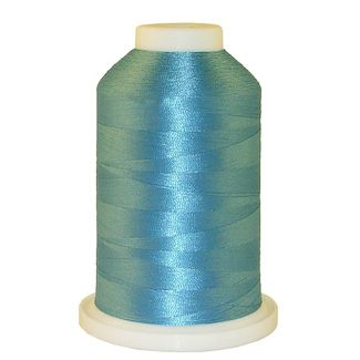 Misty Blue # 1287 Iris Polyester Embroidery Thread - 1100 Yds