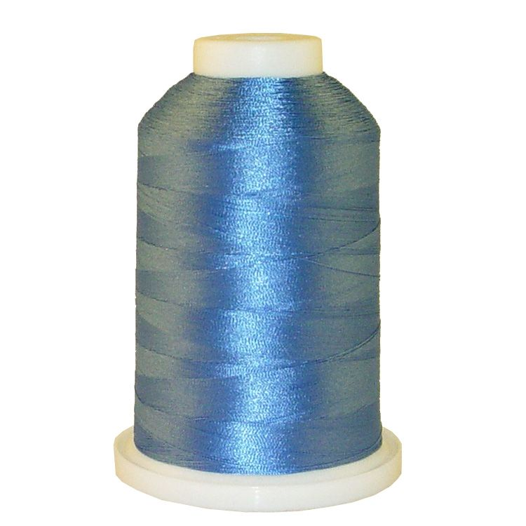 Glacier Blue # 1288 Iris Trilobal Polyester Machine Embroidery & Quilting Thread - 5500 Yds