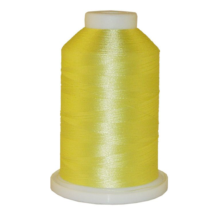 Lemon # 1292 Iris Trilobal Polyester Machine Embroidery & Quilting Thread - 5500 Yds