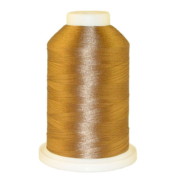 Coffee Teak # 1296 Iris Trilobal Polyester Machine Embroidery & Quilting Thread - 5500 Yds