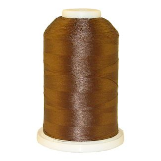 Brown # 1298 Iris Polyester Embroidery Thread - 1100 Yds