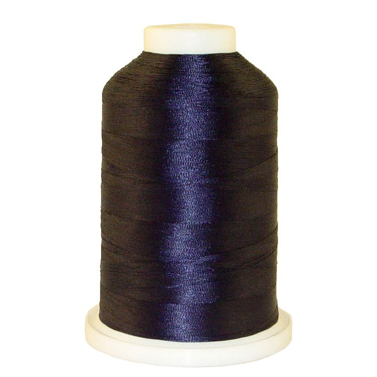 Lt. Navy # 1303 Iris Trilobal Polyester Machine Embroidery & Quilting Thread - 5500 Yds
