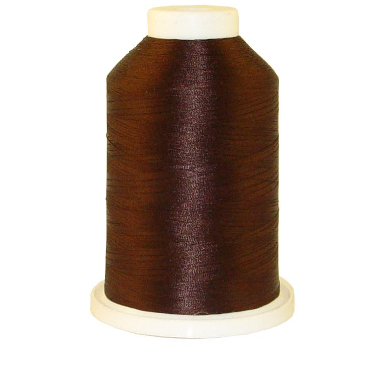 Dark Hershey # 1305 Iris Trilobal Polyester Machine Embroidery & Quilting Thread - 5500 Yds