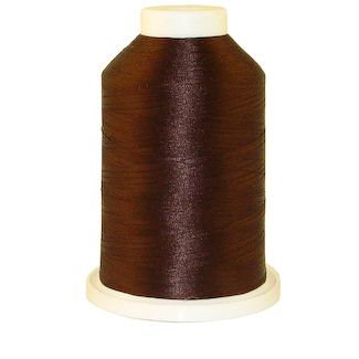 Dark Hershey # 1305 Iris Polyester Embroidery Thread - 1100 Yds