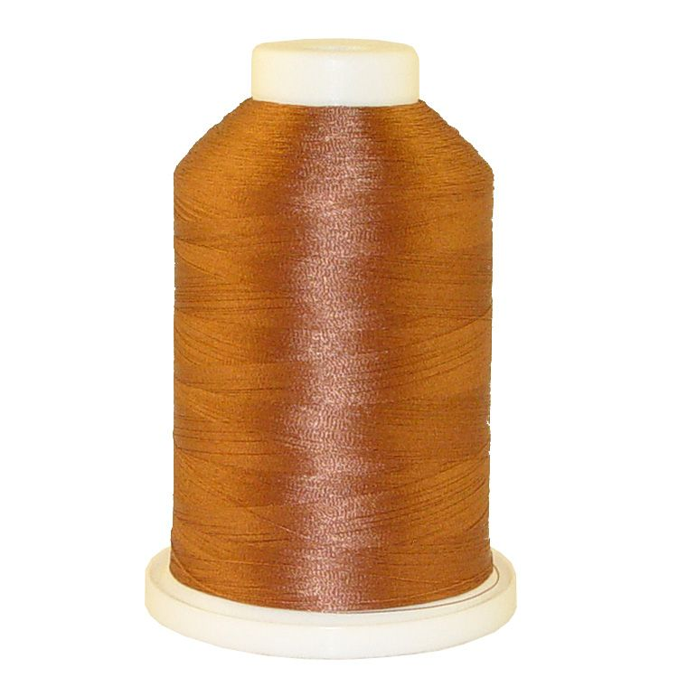 Cocoa # 1307 Iris Trilobal Polyester Machine Embroidery & Quilting Thread - 5500 Yds