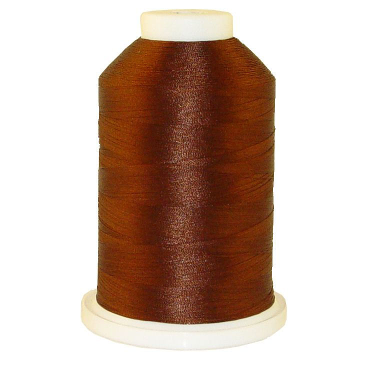 Hazelnut Roast # 1309 Iris Trilobal Polyester Machine Embroidery & Quilting Thread - 5500 Yds