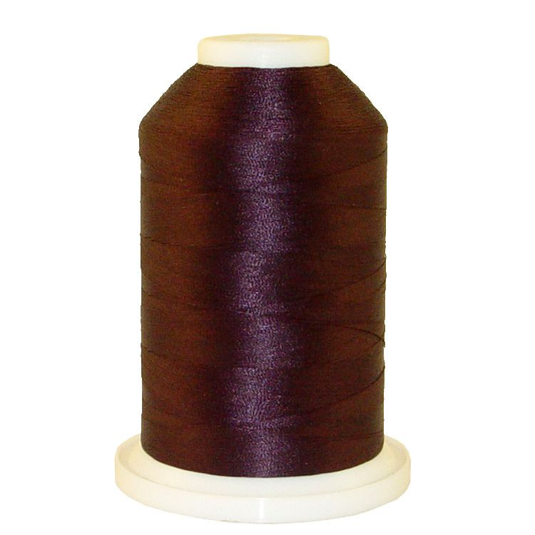 Deep Maroon # 1310 Iris Trilobal Polyester Machine Embroidery & Quilting Thread - 5500 Yds