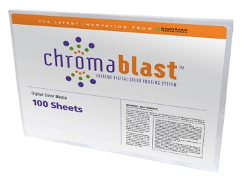 "Chromablast Paper 11"" x 17"" 100 sheets per pack THUMBNAIL"