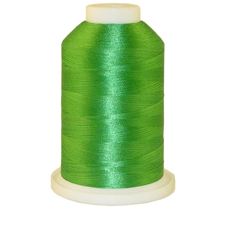 Garden Green # 1312 Iris Trilobal Polyester Machine Embroidery & Quilting Thread - 5500 Yds
