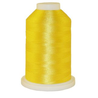Crayon Yellow # 1314 Iris Polyester Embroidery Thread - 1100 Yds