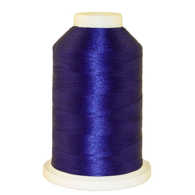 Dynasty Blue # 1316 Iris Trilobal Polyester Machine Embroidery & Quilting Thread - 5500 Yds
