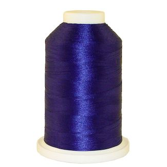 Dynasty Blue # 1316 Iris Polyester Embroidery Thread - 1100 Yds