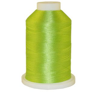 Bright Green # 1319 Iris Polyester Embroidery Thread - 1100 Yds